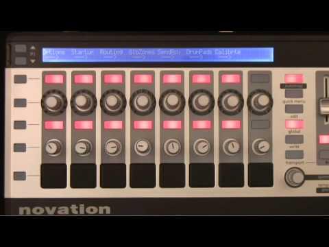 Novation SL MkII Tutorial -- Part 1 of 4