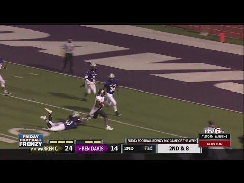 Indiana High School Football Scores Week 5