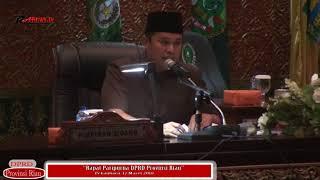 Rapat Paripurna DPRD Provinsi Riau -- Senin 12 Maret 2018