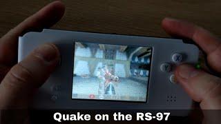 RS-97 emulation and gaming handheld running classic FPS Quake
