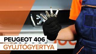 PEUGEOT 406 Gyújtógyertya csere ÚTMUTATÓ | AUTODOC