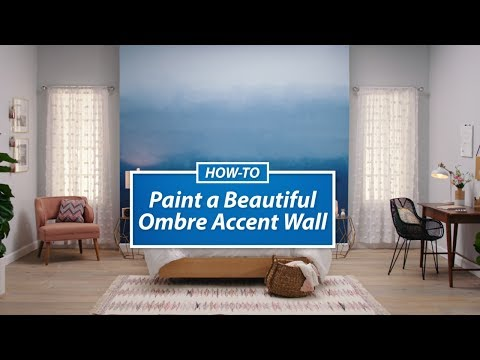 Ask SW: How To Paint An Ombre Accent Wall - Sherwin-Williams