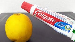 DIY Colgate Toothpaste Skin Whitening For Dark Elbows Hand Beauty Hacks Routine  Simple Tricks Hacks