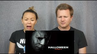 Halloween Official Trailer // Reaction & Review