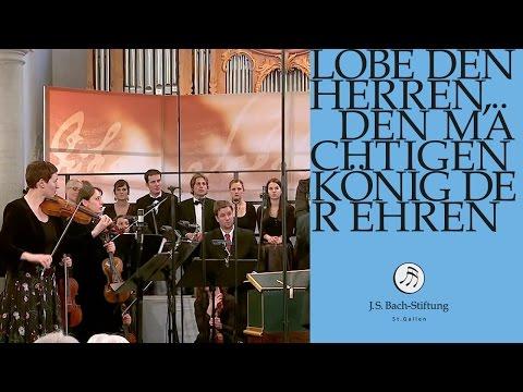 J.S. Bach - Cantata BWV 137 Lobe den Herren   2 Aria (J. S. Bach Foundation)