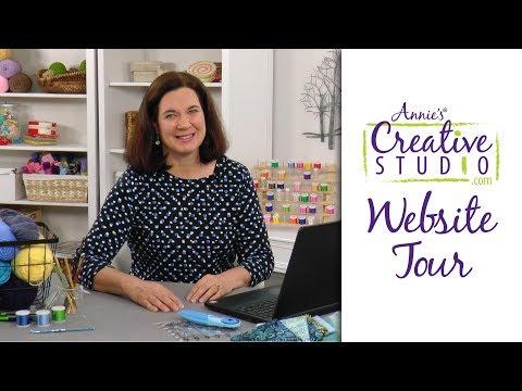 Annie's Creative Studio Website Tour