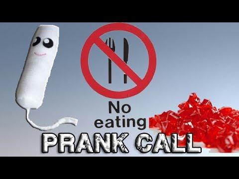 how to make a prank call video