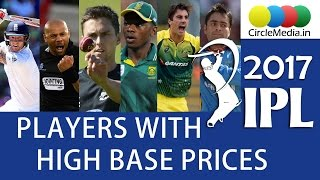 IPL 2017 | IPL Auction Results and List Of Players sold out at High Price | CircleMedia.in