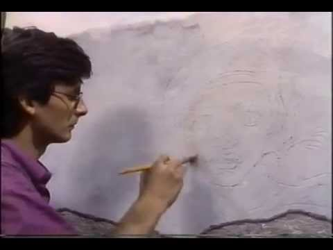 Michelangelo's fresco painting technique