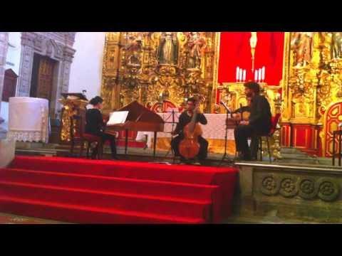 "Telemann. Trio 8 ""Essercizii musici"" TWV 42:B4"
