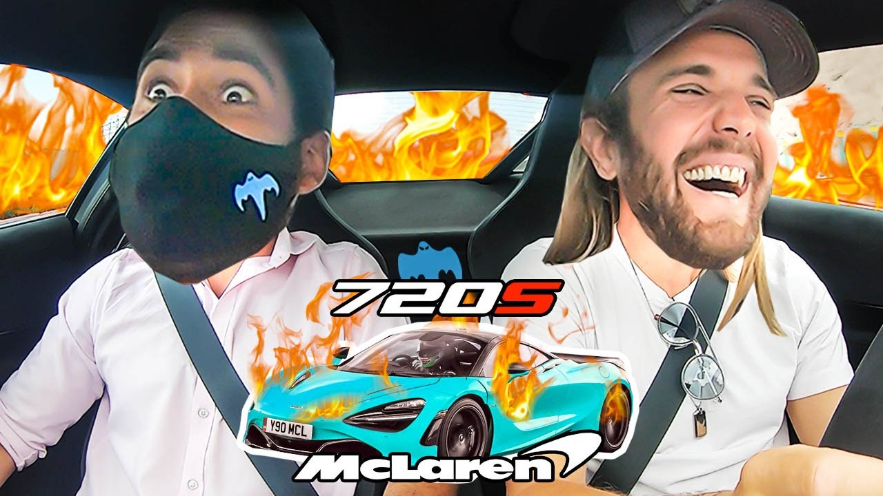 Le dejo MI MCLAREN a un PILOTO PROFESIONAL – Don Koenigsegg y Dani Clos