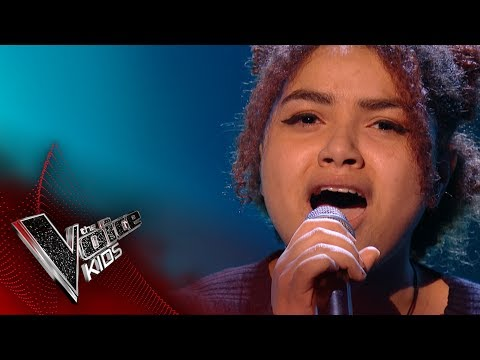 Juno performs 'Chasing pavements': Blinds 3 | The Voice Kids UK 2017