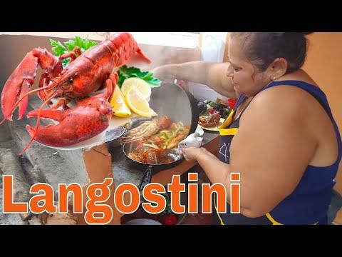 """Receta con Gladis la Sirenita: """"Langostini en tomatini"""". Nano & Wendy. Parte 7"""