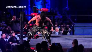 Ring of Honor Sneak Peek - AJ STYLES vs MARK BRISCOE - ROH TV Ep #185