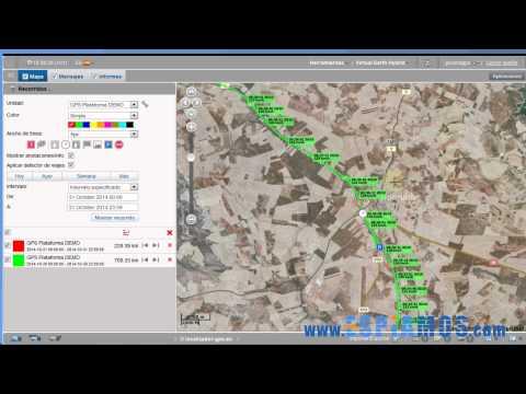 Plataforma de localización para GPS video