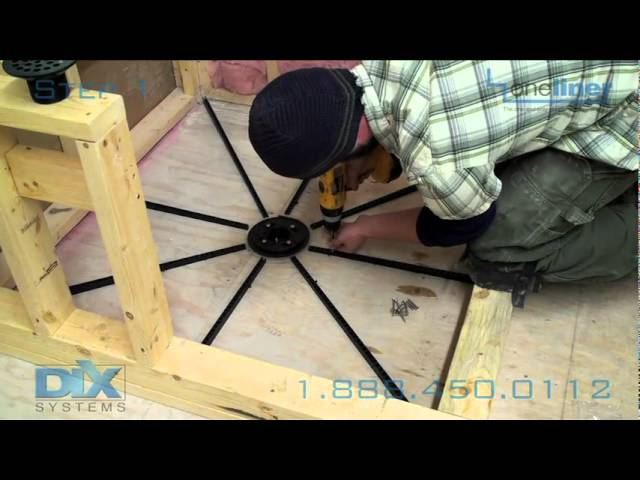 how to prep floor pre pitch mortar