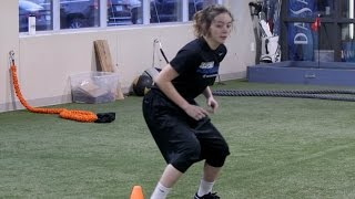 Athlete Takes Return-to-Sport Test After ACL Reconstruction