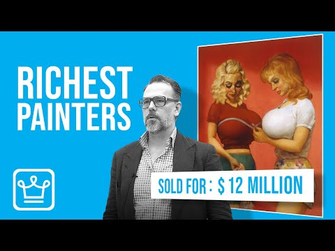 15 RICHEST PAINTERS in The World