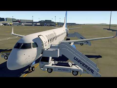 [X-Plane 11] X-Crafts Embraer E175 V2.2 People's ViennaLine from Vienna to St.Gallen-Altenrhein