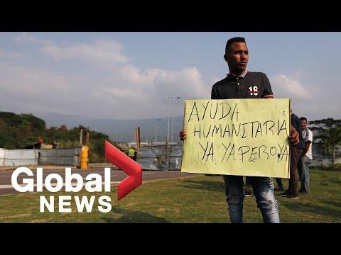Venezuelans desperate as Maduro government blocks U.S. humanitarian aid at border Mp3