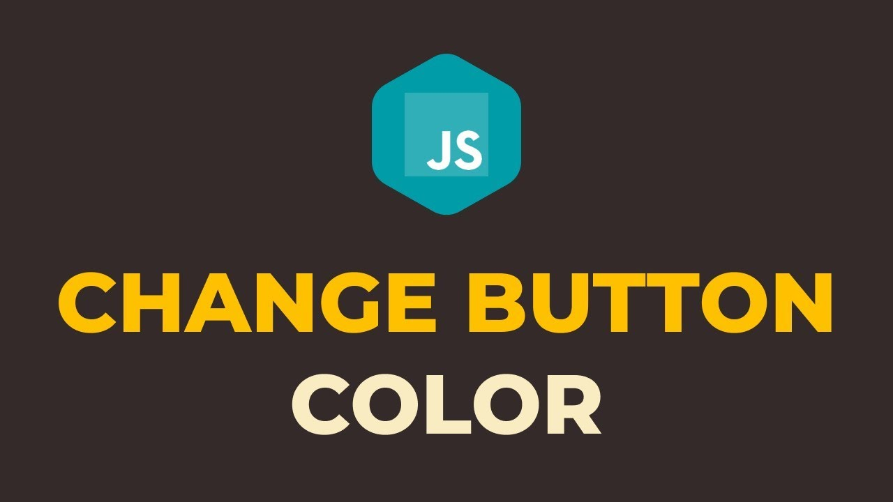 How to Change Button Color OnClick in Javascript