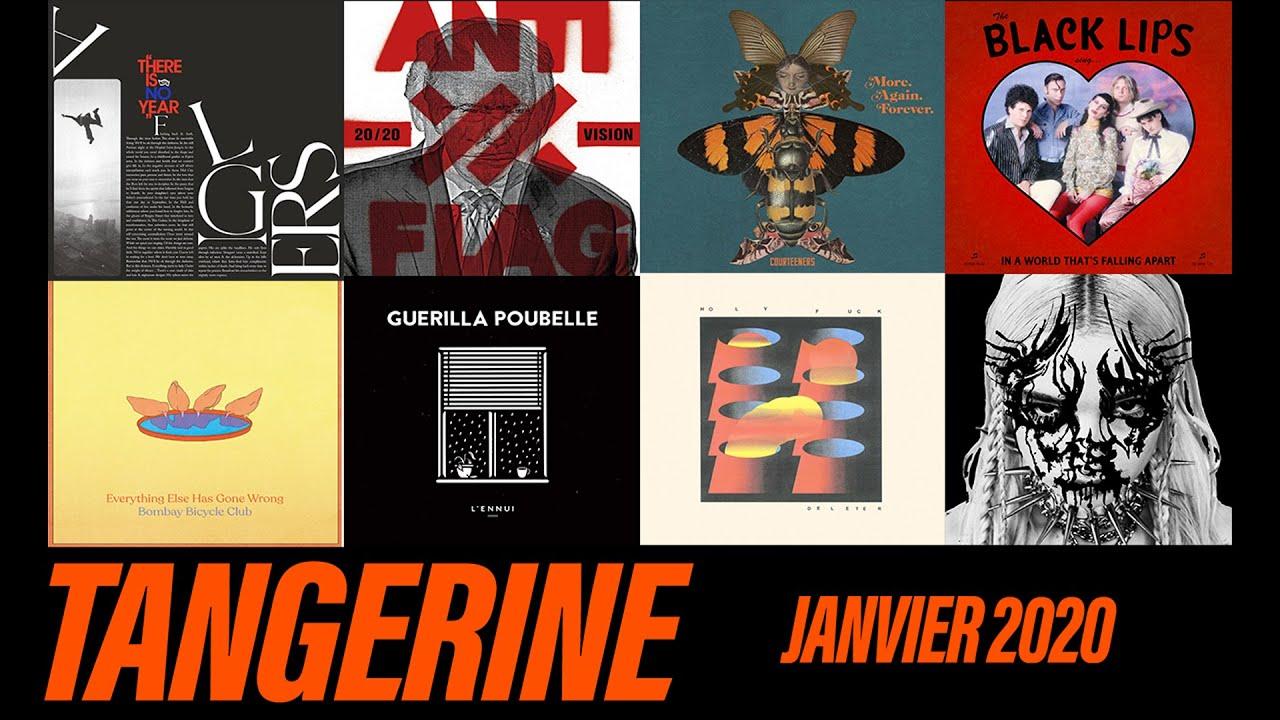 Anti-Flag, cocktail de styles & retour de John Frusciante | Actu Musicale Janvier 2020 | TANGERINE