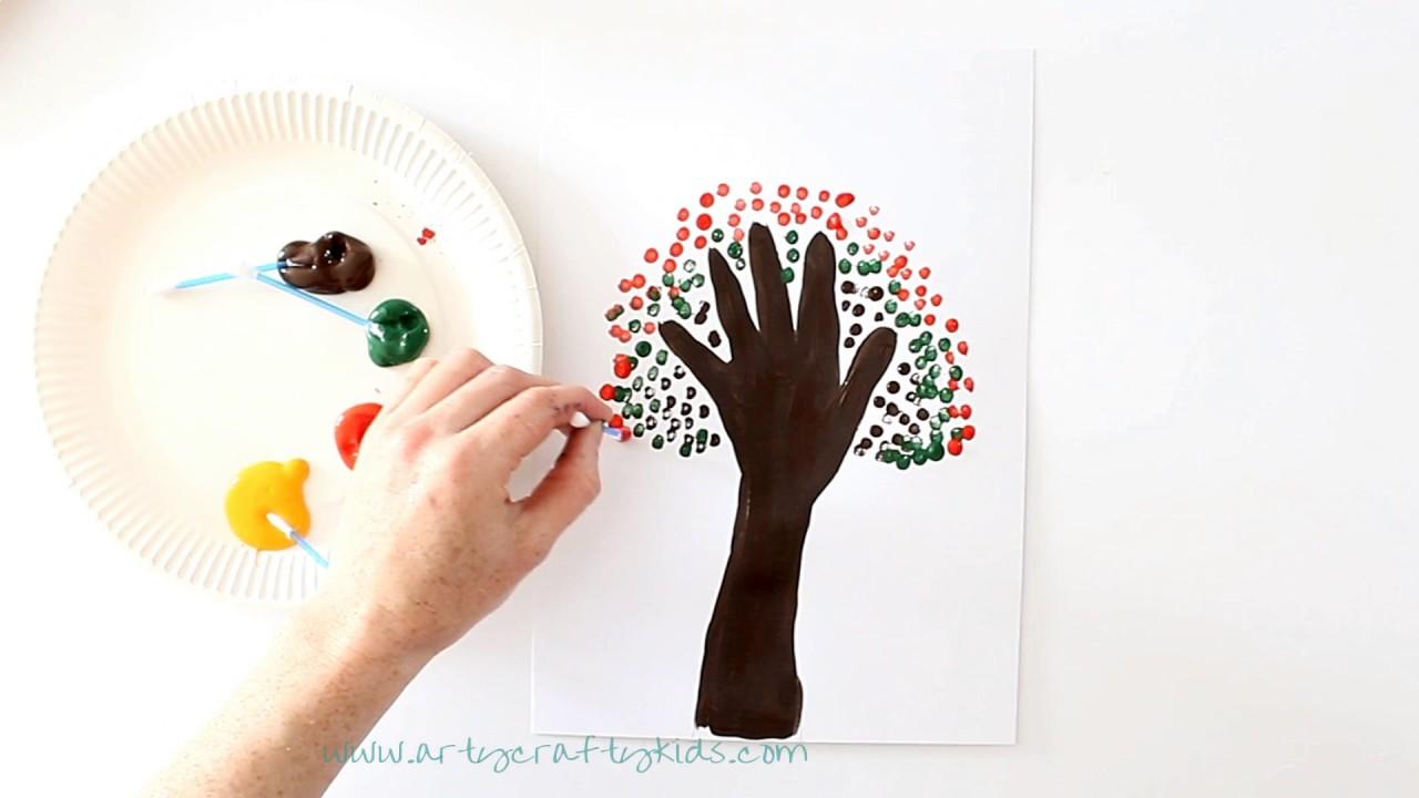 20 Season Handprint Tree