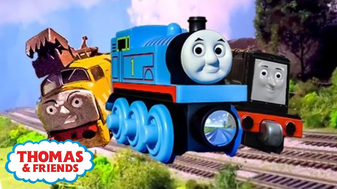 racers on the rails compilation new bonus scenes thomas
