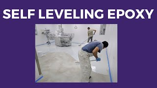 Self Leveling Epoxy Floor - Step by Step how to Apply (Ktisofloor)