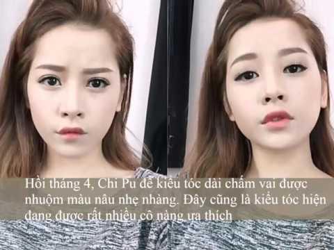 """Hành trình """" Lột xác"""" mái tóc của Hot Girl Chi Pu sau 6 năm"""