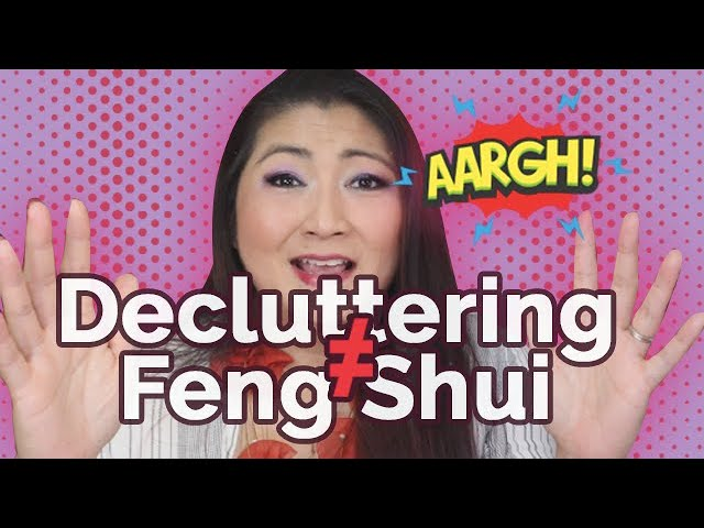 Decluttering Does Not Mean You're Doing Feng Shui