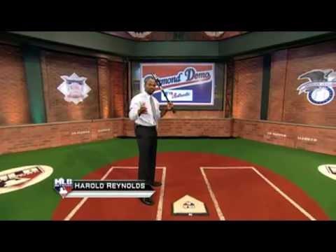 Harold Reynolds breaks down Domonic Brown's  swing