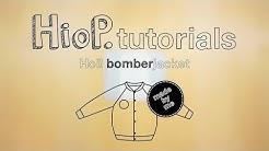 Kuinka ommella lasten bomber | Hoi! bomberjacket videotutorial