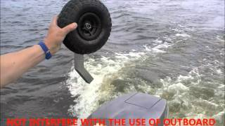 Inflatable Boat Wheels Proscan Marine