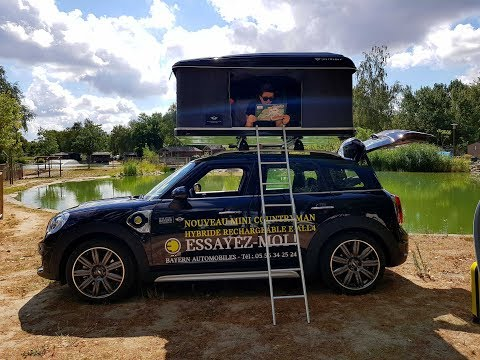 AUTOHOME Roof Tent by MINI STORE Bayern Automobiles