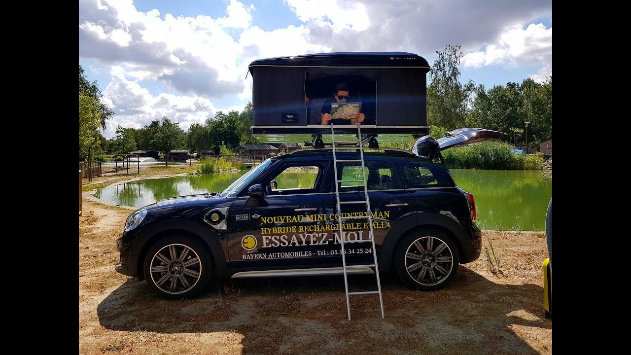 autohome roof tent by mini store bayern automobiles youtube. Black Bedroom Furniture Sets. Home Design Ideas