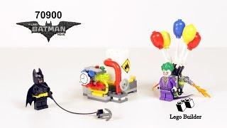 Lego Batman Movie 70900 The Joker Balloon Escape - Lego Speed Build Review