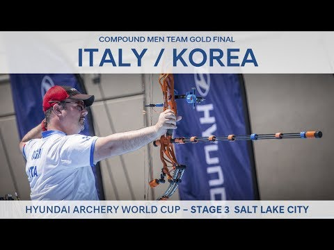 Italy v Korea – Compound Men Team Gold Final | Salt Lake City 2017