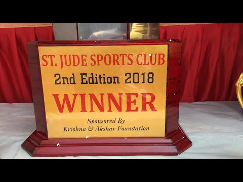 Trophy of st Jude's sports club