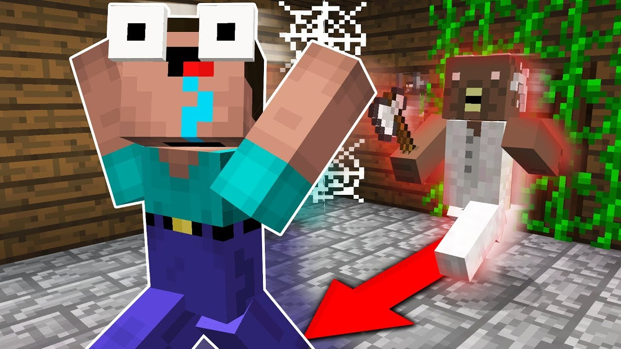 SCARY GRANNY MINECRAFT GAME!!
