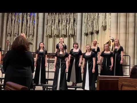 Confitemini Domino— Clayton Valley Charter High School Women's Ensemble NYC 2019
