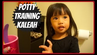 Potty Training Kaleah - DITL Vlog #17