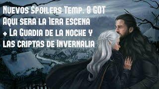 GOT Temp. 8: Revelada la Primera Escena + Las Criptas de Invernalia