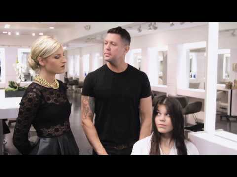 Haircut by Cristophe Salon Stylist - Next Chapter Makeover
