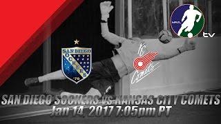 San Diego Sockers vs Kansas City Comets
