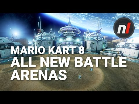 All 8 New Battle Arenas in Mario Kart 8 Deluxe for Nintendo Switch