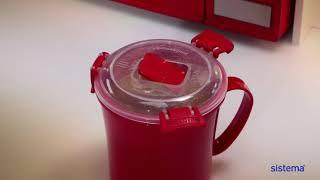 "Обзор «Кружка суповая Sistema ""Microwave"", 656 мл, цвет красный»"