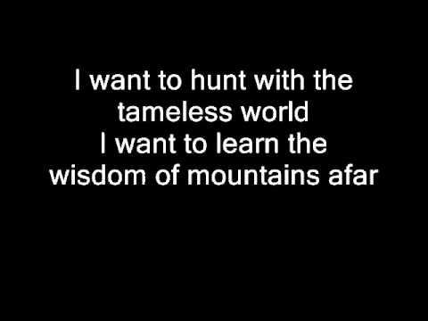 Nightwish - Sacrament Of Wilderness (with lyrics)