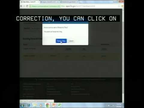 FCC Form 477 Webinar