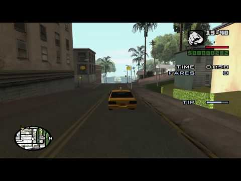 GTA - San Andreas - Taxi Mission 21: The Suit Makes the Man